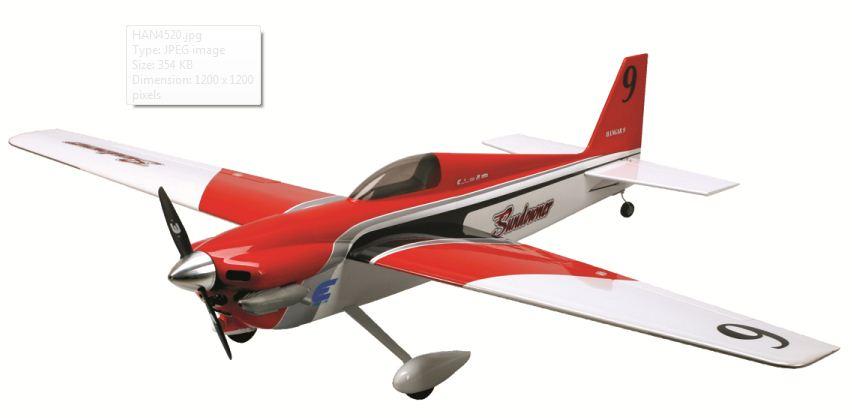 Hangar 9 Sundowner 36