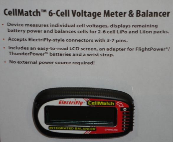 ElectriFly CellMatch