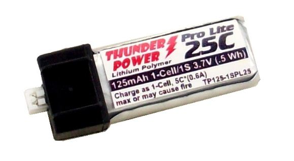 Thunder Power Ultra-Micro Batteries & Charger