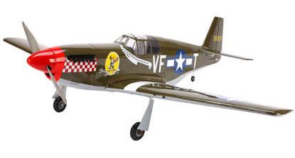 P-51B Mustang 32e ARF from E-Flite