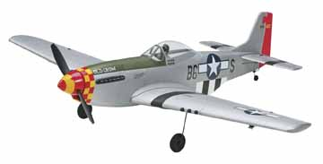 Tower Hobbies P-51 Mustang Brushless Rx-R