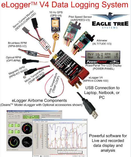 Eagle Tree  eLogger V4 Data Logging System