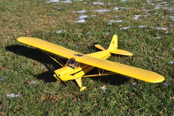 Exclusive online Test Flight–FlyZone RxR Piper Super Cub Select