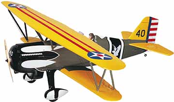 Great Planes Curtiss P-6E Hawk ARF