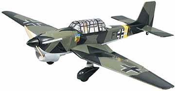 Great Planes JU-87 Stuka .60-.90 ARF