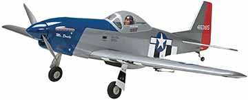 Great Planes® Sport Scale Mustang