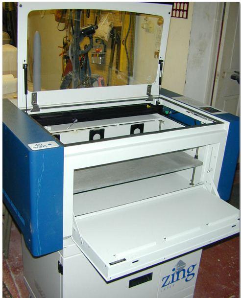 epilog zing 24 40watt laser cutter review model airplane news. Black Bedroom Furniture Sets. Home Design Ideas