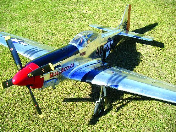 Aeroworks North American P-51 Mustang