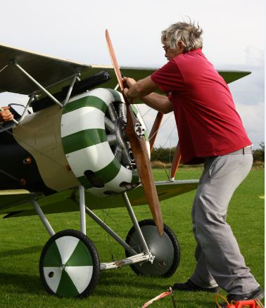 Ian Turney-White's 2/3-scale Hanriot