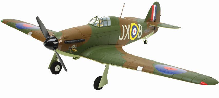 E-flite Hawker Hurricane 25e