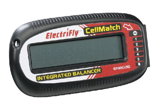 ElectriFly CellMatch 6-Cell Voltage Meter and Balancer