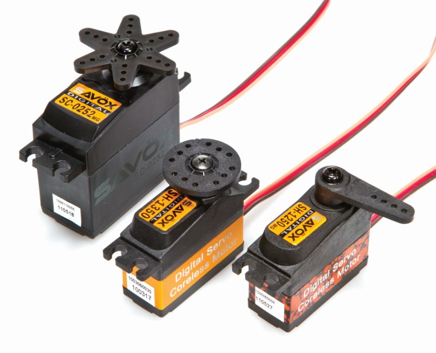 Savox Servos — Taking RC by Storm!