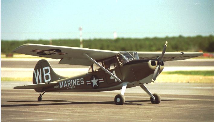 Vailly Aviation 1/3-scale Bird Dog