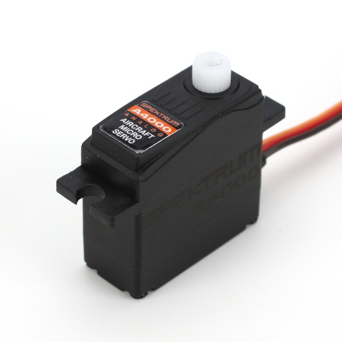The new line of Spektrum  Lightweight Micro Aircraft Servos