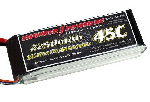 Thunder Power Generation 6 Pro Performance 45C Lipo Packs