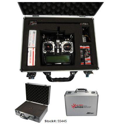 Hitec Aurora 9 Aluminum Transmitter Case