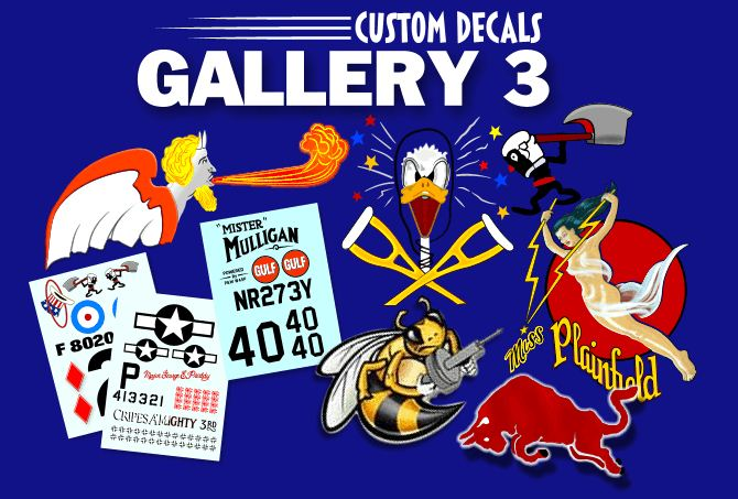 Cal-Grafx Hobby Art Custom Model Graphics and Decals