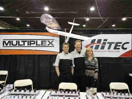 Hitec & Multiplex at the Expo