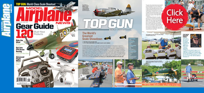 Top Gun Scale Invitational: August Issue