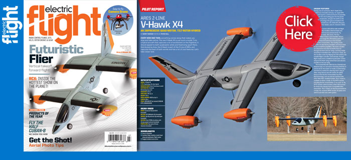 Ares Z-Line V-Hawk X4: July issue