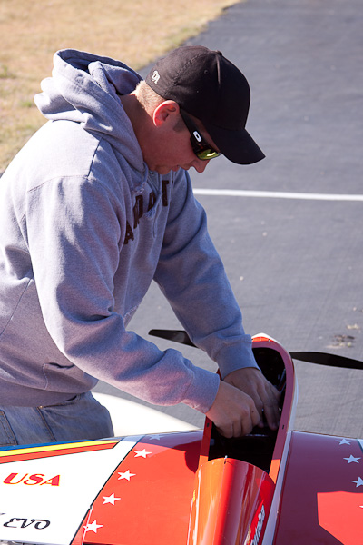 andrew jesky, andrew jesky flying plane, model airplane news, photo 2, getting ready for flight, hats