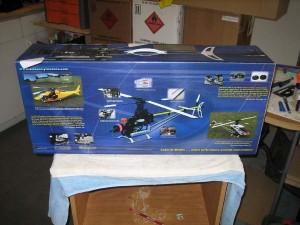 Pantera P6, pantera p6 50 size nitro helicopter, audacity models, genesishobby.com, model airplane news, photo 2, blue, box