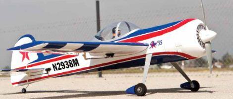Awesome aerobat! ElectriFly Yak 55