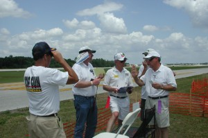 top gun, top gun 2011, model airplane news crew, model airplane news editors, photo 3, 4 guys, top gun crew