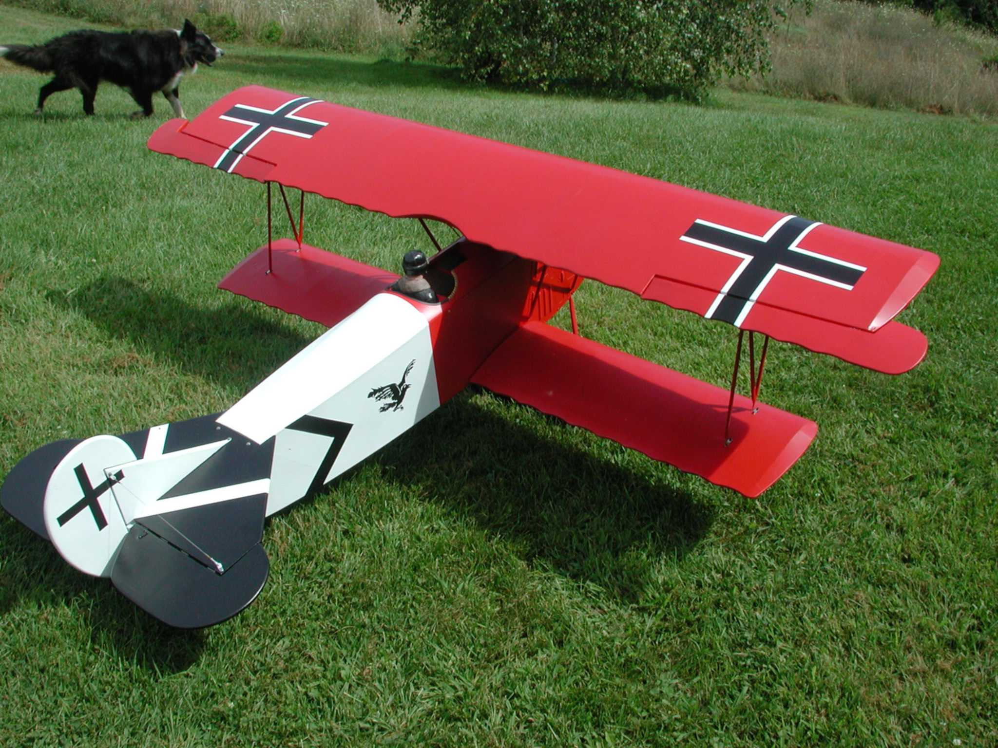 Since I have the documentation material from my old 1/4-scale Fokker I will use it for the new mini Fokker Project