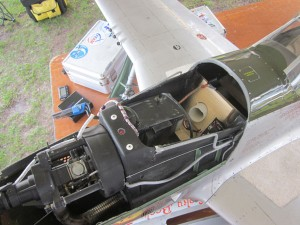 P-51D Mustang, Jean-Francois Bobo, V-12 Rolls Royce Merlin engine, DLE 55 engine, photo 3, up close, seat