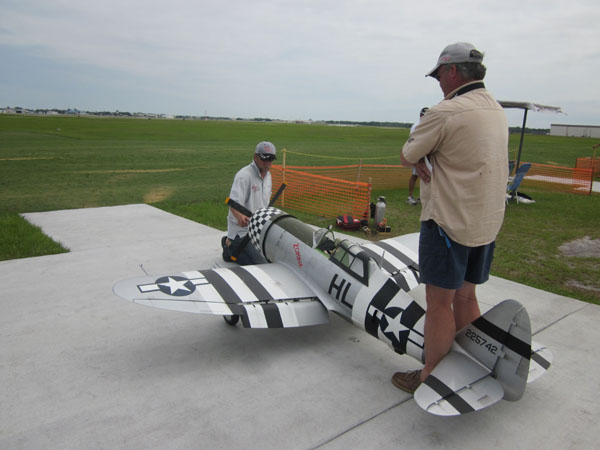 flightline, top gun, model airplane news, model airplanes, model aviation, paradise field, photo 2, HL, gray