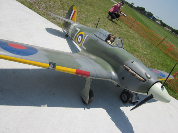Hawker Sea Hurricane at Top Gun