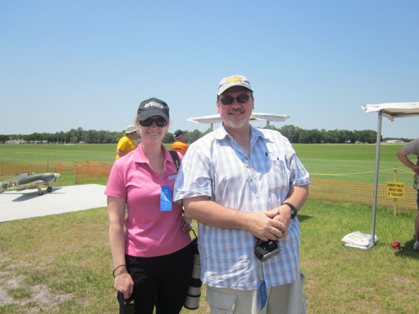 top gun, top gun flightline, model airplane news team, debra cleghorn, gerrald yarrish, photo 2