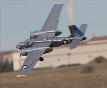 setting up multi-motor electrics, A-26 from global hobbies, global hobbies, electric conversion, model airplane news