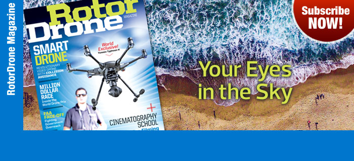 RotorDrone Magazine- Subscribe Now