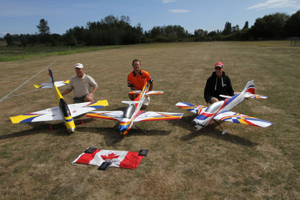 2011 Canadian FAI F3A Precision Aerobatic Team, Dave Reaville interview, dave reaville team manager, model airplane news, model airplanes, model aviation, mark byrne, dezso vaghy, FAI competition, photo 3, team trials, chad northeast