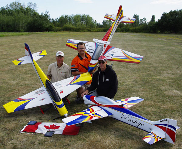 2011 Canadian FAI F3A Precision Aerobatic Team, Dave Reaville interview, dave reaville team manager, model airplane news, model airplanes, model aviation, mark byrne, dezso vaghy, FAI competition, photo 2, guys, 3