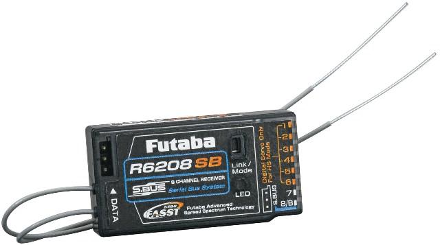 Futaba R6208SB 2.4GHz FASST Receiver