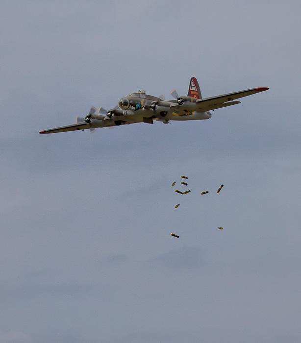 A successful bomb drop