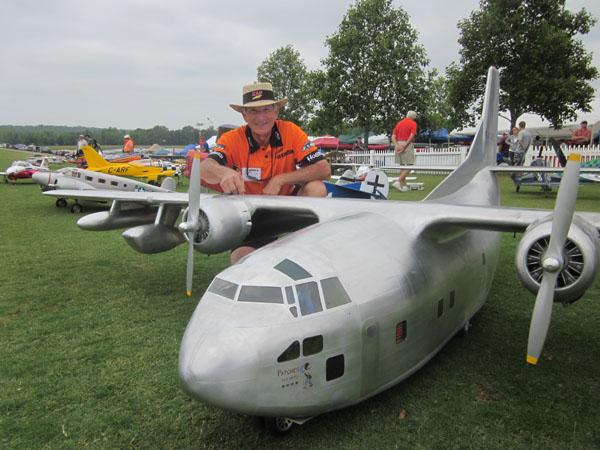Dennis Crooks and his C-123 Provider Cargo Plane