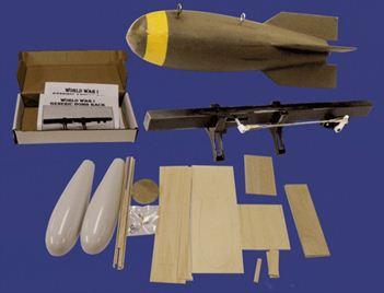 Balsa USA WW1 Bomb & Rack Kits