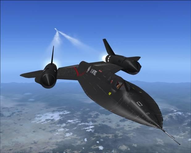 Slowest Blackbird flight