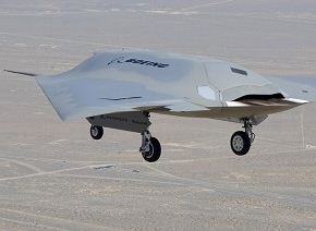 New unmanned aircraft: Boeing Phantom Ray