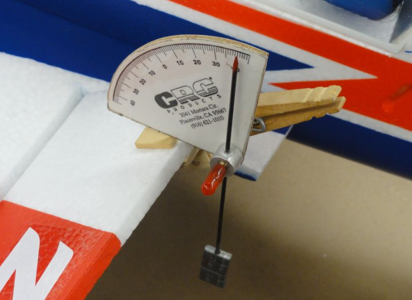 Digital Deflection Meter : Control surface deflection accuracy model airplane news