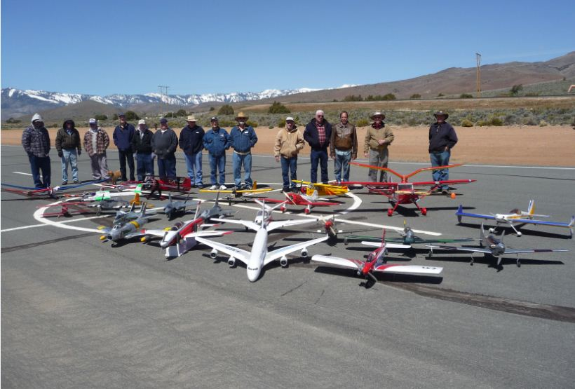 High Sierra Radio Control Club Roll Out Party