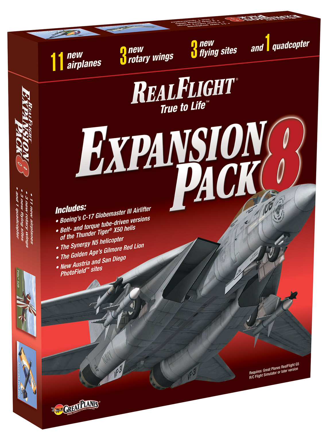 RealFlight Expansion Pack 8-All new