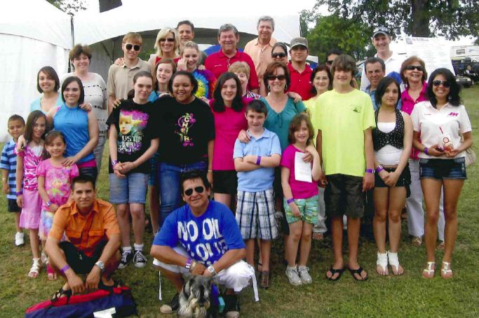 Youth Group attends the 2011 Joe Nall