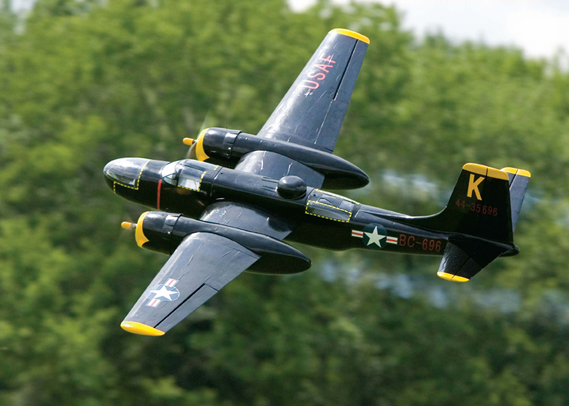 Advances Scale Models A-26 Invader