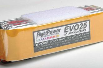 RC electric set-up, electrical power, programming ESCs, flight power, flight power battery evo25 v-power, model airplane news