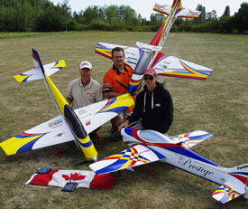on the flightline vol. 5 issue 8, top gun scale invitational, top gun, top gun 2011, top gun 2011 coverage, 2011 canadian FAI f3a precision aerobatic team, team manager dave reaville